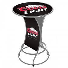 coors light bar stools sale coors man cave gear shop