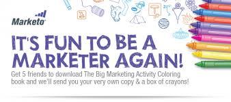 big marketing activity coloring book