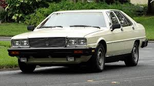 1985 maserati biturbo hemmings find of the day u2013 1985 maserati quattroport hemmings daily