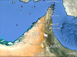 map of oman and uae map of uae and oman creatop me