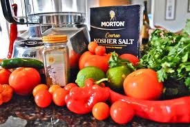 Vegetable Garden Restaurant by Making Restaurant Style Salsa Wet Hair Don U0027t Care