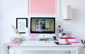 Chic Office Desk White X Base Desk Contemporary Den Library Office Peep My Style