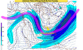 Jet Stream Forecast Map Here Comes Winter Cold Air Is On The Way Finally Mlive Com