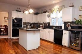 kitchen white appliances kitchen white cabinets black appliances photogiraffe me