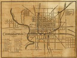 Map Indy History Of Military Park Historic Indianapolis All Things