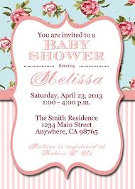 Shabby Chic Invites by 64 Best Brenna U0027s Baby Shower Images On Pinterest Baby Shower