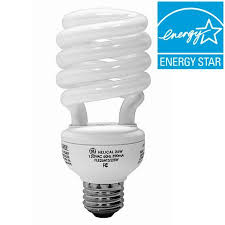 ge helical light bulbs ge energy smart cfl light bulbs 26 watt 100w equivalent walmart com