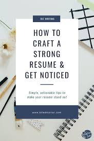 Stand Out Resume How To Make Your Resume Stand Out Between The Lines Editorial