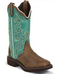 womens boots images justin s square toe barnwood boots boot barn
