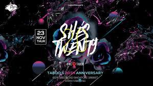 taboo sg taboo bar singapore
