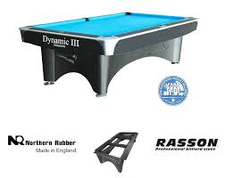 professional pool table size dynamic 3 american 8ft or 9ft pool table homegames