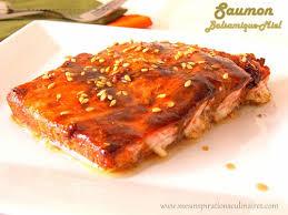 cuisiner le saumon saumon au vinaigre balsamique recette sucrée salée le