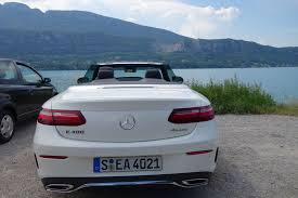 first drive 2018 mercedes benz e400 4matic cabriolet automobile