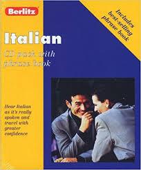 berlitz italian cd pack berlitz 9782831563442 books