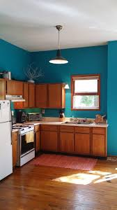 Teal Accent Wall by Creative Influences Celebrating Color Teal