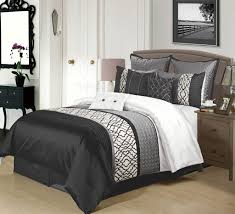 Red And Black Comforter Sets Full Black And White Comforter Sets Queen Night Stands White And Black