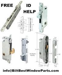 Patio Door Lock Parts Idea Patio Door Replacement Parts Or Zoom 59 Sliding Patio Door