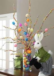 easter decorations ideas hot glue jelly beans to tree branches for an adorable easter tree