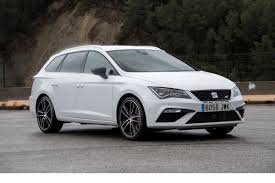 seat leon st cupra 300 4drive review estate offers big boot