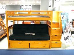 Bunk Bed With Futon Bottom Futon Bunk Bed Size Bunk Bed Futon Bottom Bunk