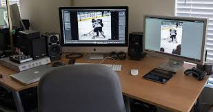 Best Workstation Desk Best Photographers Desk Setup Catchy Office Furniture Decor With