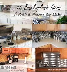 10 diy backsplash ideas which look great the diy life
