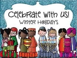 winter holidays around the world clipart 40