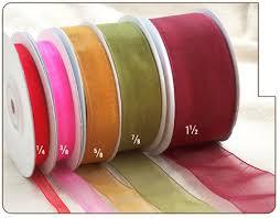 2 inch ribbon 2 inch sheer organza ribbon 25 yds