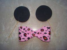 edible fondant minnie mouse inspired dome ears by burgundycakes