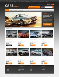 motor website website template 45831 cars market rental custom website template