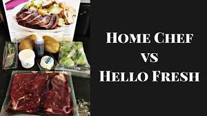 Home Chef by Home Chef Vs Hello Fresh Trying Meal Delivery Services Youtube
