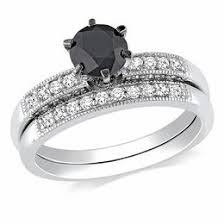black diamond bridal set black diamonds collections zales