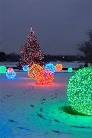 christmas yard how to make christmas light balls christmas lights etc