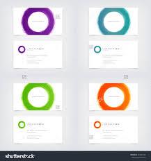 inspirational photos of half circle business cards business cards
