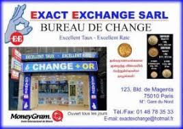 bureau de change nord exact exchange tamil directory
