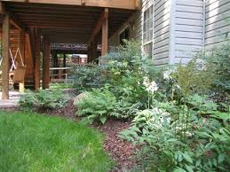 Landscape Deck Patio Designer Deck Landscape Design Deck Plantings Landscaping