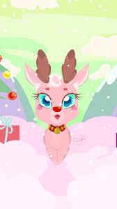 christmas christmas reindeer cute livepaper image inspirations