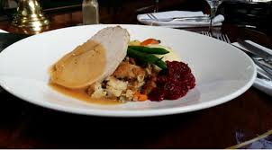 three course thanksgiving dinner at joe fortes