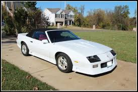 1992 camaro z28 convertible for sale 1992 camaro z28 convertible one of 1254 made fully restored for