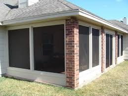 Patio Enclosure Screens Screen Porch Systems Porch Screen Porch Screen System Metro