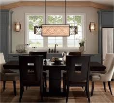 lighting over kitchen table slat back dining chair no chandelier