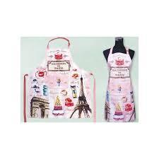 tablier cuisine original kitchen apron macaroons souvenirs of par ici