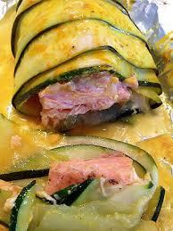 cuisine papillote recette de ballotins de courgettes et saumon en papillote thermomix