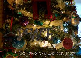 my very own christmas beyond the screen door