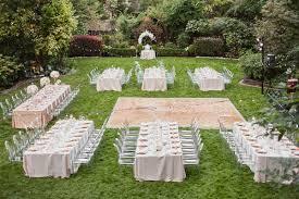 Cheap Backyard Reception Ideas Backyard Wedding Table Centerpieces Best Reception Layout Ideas
