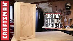 how to build kitchen cabinets craftsman youtube