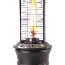 patio flame heaters lhi 111 gun metal propane