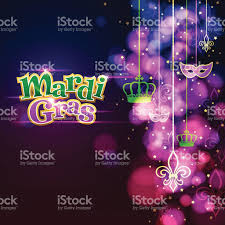 mardi gras ornaments background stock vector art 525074711 istock