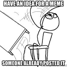 Flip Meme - desk flip rage guy meme generator