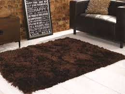 Chocolate Brown Area Rugs Excellent Brown Area Rugs Cievi Home Within Shag Rug Modern